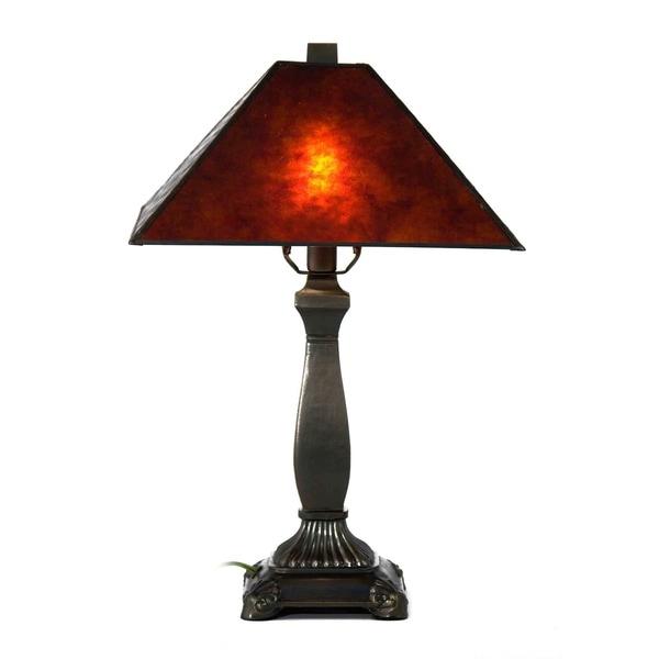 "Springdale 18.5""H Camelot Mica Table Lamp"