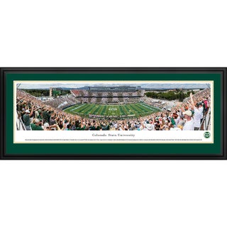 Colorado State Rams Football - Blakeway Panoramas College Football Framed Print