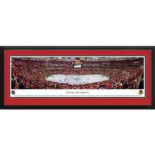 Chicago Blackhawks - Center Ice at United Center - Blakeway Panoramas NHL Prints