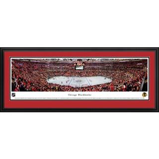 Chicago Blackhawks - Center Ice at United Center - Blakeway Panoramas NHL Prints