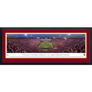 USC Trojans Football - Blakeway Panoramas College Football Framed Print