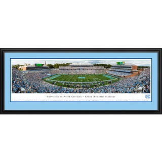 North Carolina Tar Heels Football - Blakeway Panoramas College Football Framed Print
