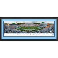 North Carolina Tar Heels Football - Blakeway Panoramas Framed Print