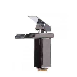 Bathroom Sink Faucet Chrome Vessel Waterfall One Hole/Handle Mixer Tap