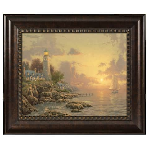 Thomas Kinkade The Sea of Tranquility 16 x 20 Brushstroke Vignette