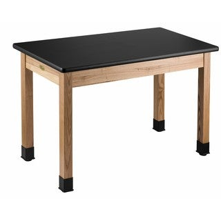 Science Lab Table High Pressure Laminate Top Plain Front 24 x 48
