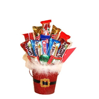 Santa's Candy Munch Gift Basket