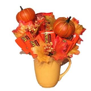 Little Reese Pumpkin Patch Candy Bouquet