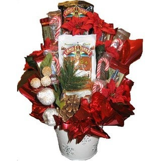 Candy Cane Christmas Bouquet