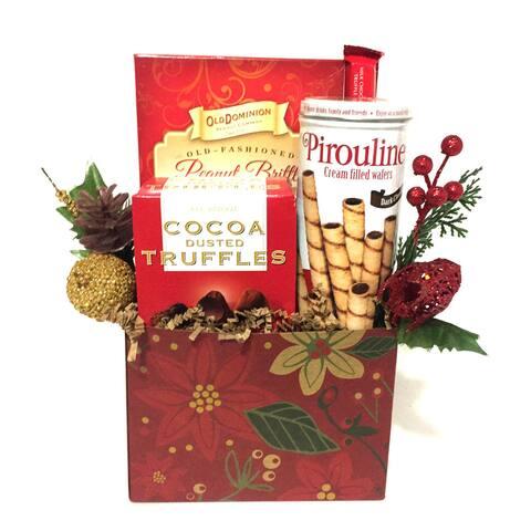 Noel Christmas Gift Basket