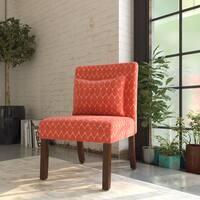 Porch & Den Los Feliz Sunset Accent Chair with Pillow