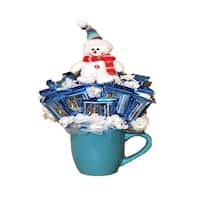 Happy Holidays Frosty Ghiradelli Candy Bouquet