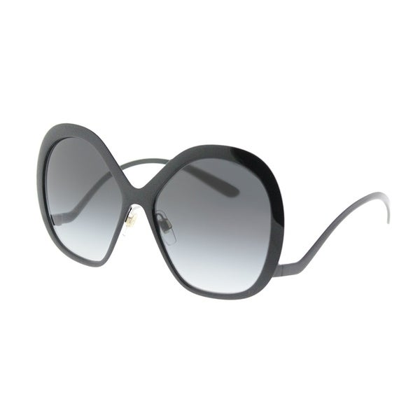 c7a13c579e6f Dolce & Gabbana Fashion DG 2180 01/8G Womens Black Frame Grey Gradient  Lens