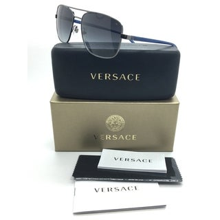 Versace Gray Squared/ Gradient / Sunglasses MOD 2153 1001/8G 59 17