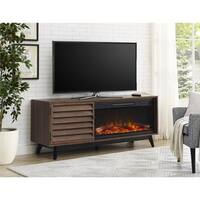 Ameriwood Home Vaughn Fireplace TV Console for TVs up to 60 inches Wide