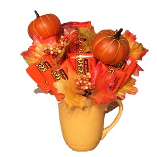 Pumpkin Patch Reese Candy Bouquet