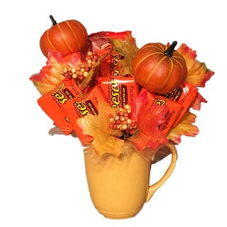 Link to Pumpkin Patch Reese Candy Bouquet Similar Items in Gourmet Food Baskets