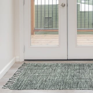 Jessica Simpson woven Bonney Cotton accent rug