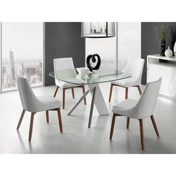 Creek Dining Chair In White Eco