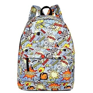 Miss Lulu Large Canvas Daypack Backpack