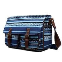 Miss Lulu Canvas Prints Large Satchel Messenger Shoulder Bag
