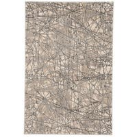"Safavieh Meadow Beige/ Grey Rug - 3'3"" x 5'"