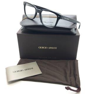 Giorgio Armani Black Eyeglasses AR 7090 5017 52 mm Designer Square Italy https://ak1.ostkcdn.com/images/products/18731723/P24806950.jpg?impolicy=medium