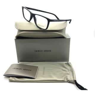 Giorgio Armani Black Eyeglasses AR 7104 5063 53 mm Rectangular Rubber Italy https://ak1.ostkcdn.com/images/products/18731728/P24806953.jpg?impolicy=medium