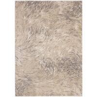 Safavieh Meadow Ivory/ Grey Rug - 5'3 X 7'6