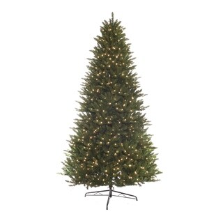 Puleo International Green 9-foot Pre-lit Hamilton Spruce Tree With 1000 Clear Lights