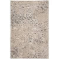 Safavieh Meadow Ivory/ Grey Rug - 6'7 x 9'