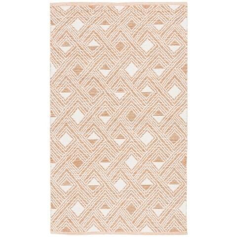 Safavieh Handmade Flatweave Montauk Nonita Casual Cotton Rug
