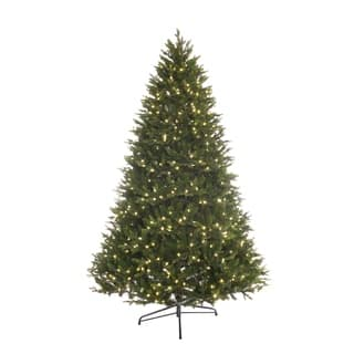 Puleo Intl 7.5 ft PREMIUM Miracle Shape Northern Forest 700 LED Lights|https://ak1.ostkcdn.com/images/products/18731922/P24807096.jpg?impolicy=medium