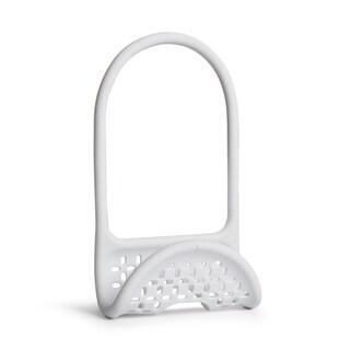 Umbra Sling Caddy Flexible Sink Soap Sponge or Cleaning Brush Holder (Option: White)