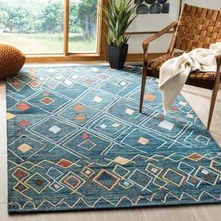 Safavieh Handmade Suzani Aiki Boho Tribal Wool Rug