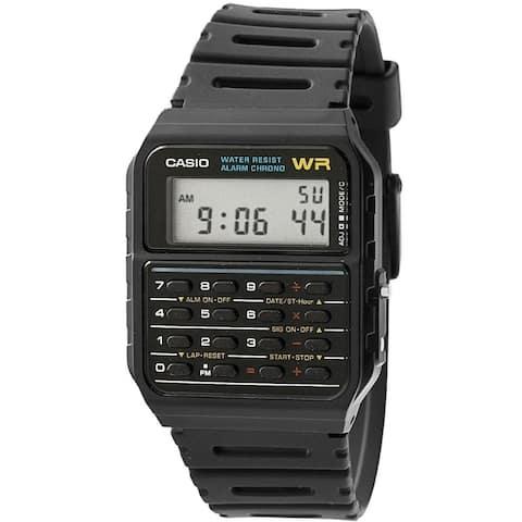 Casio Men's Twincept Databank Ani-Digi Resin Watch