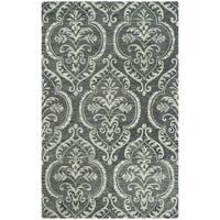 Safavieh Handmade Blossom Blue/ Sage Wool Rug - 8' x 10'