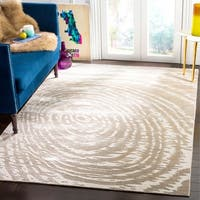 Safavieh Hand-Woven Expressions Ivory Viscose Rug (9' x 12')