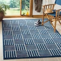 Safavieh Cottage Blue/ Grey Rug (9' x 12')
