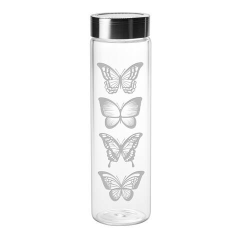Butterflies Sleek Water Bottle