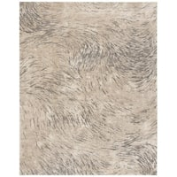 Safavieh Meadow Ivory/ Grey Rug - 9' x 12'