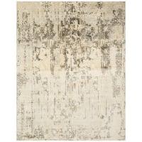 Safavieh Hand-Woven Mirage Ivory/ Grey Wool Rug - 9' x 12'