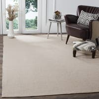 Safavieh Hand-Woven Montauk Ivory/ Grey Cotton Rug - 10' x 14'