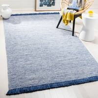 Safavieh Hand-Woven Montauk Grey Cotton Rug - 8' x 10'
