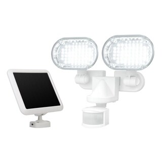 Sunforce100 LED Solar Motion Light with Corner Mounting Feature