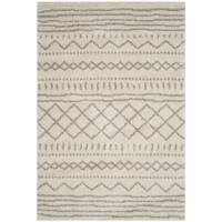 Safavieh Arizona Shag Moroccan Berber Ivory/ Beige Rug - 11' x 15'
