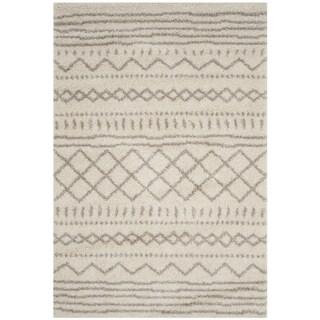 Safavieh Arizona Shag Ivory/ Beige Rug (11' x 15')