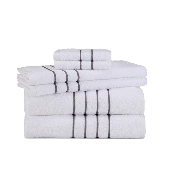 Grand Patrician Hotel Suite 6-Piece Towel Set