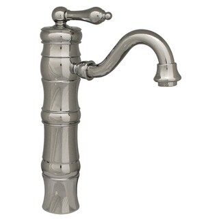 Whitehaus Vintage III Brass Elevated Lavatory Faucet (Option: Pewter Finish)
