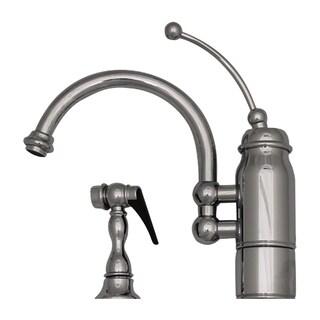 Whitehaus Collection New Horizon Kitchen Faucet